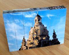 Holzpuzzle Fotowürfelpuzzle