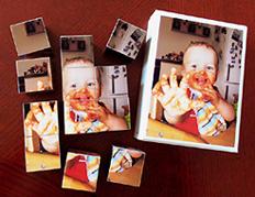 Würfelpuzzle aus eigenen Fotos